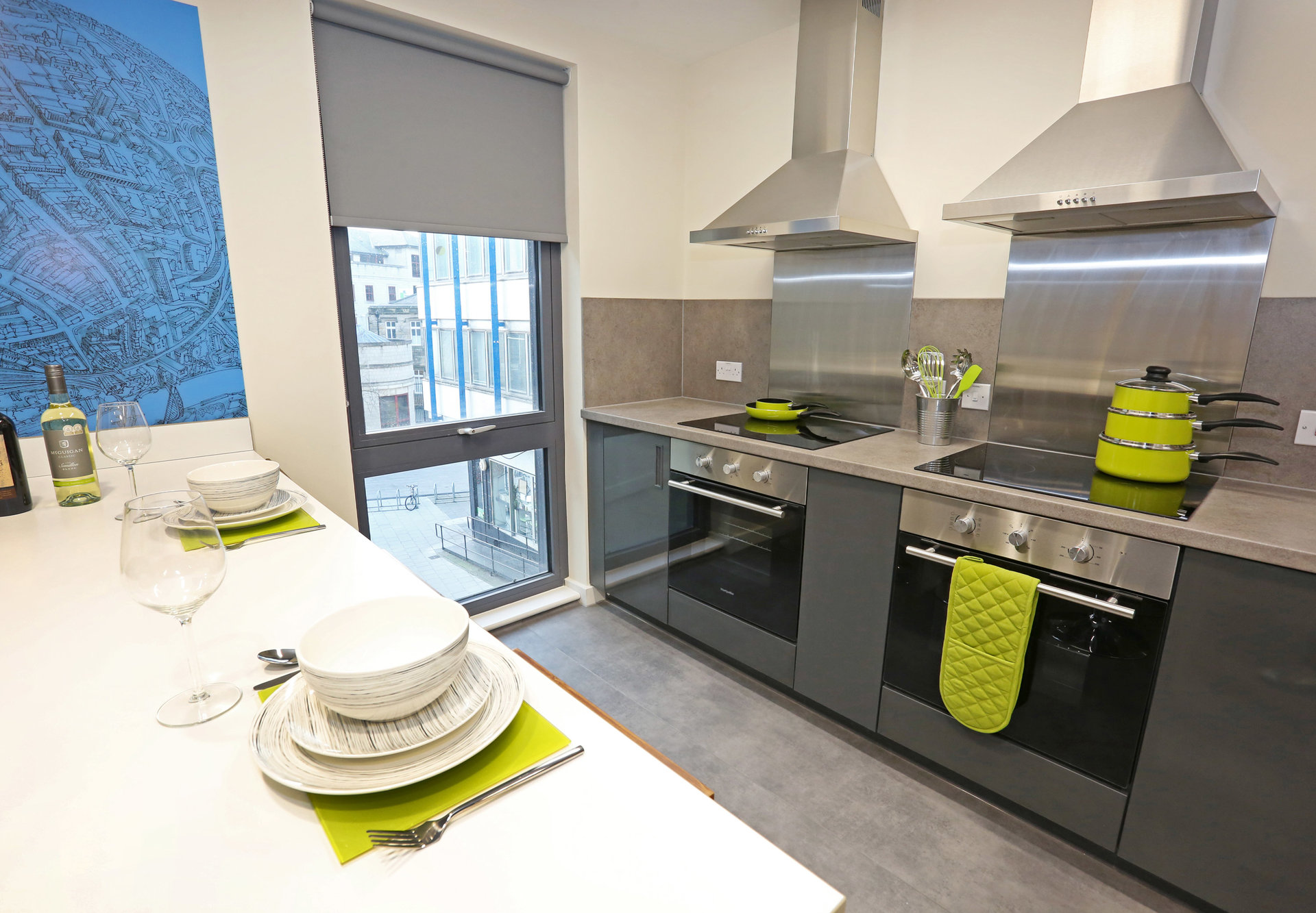 Premium En-Suite Cluster Kitchen | Oxford House