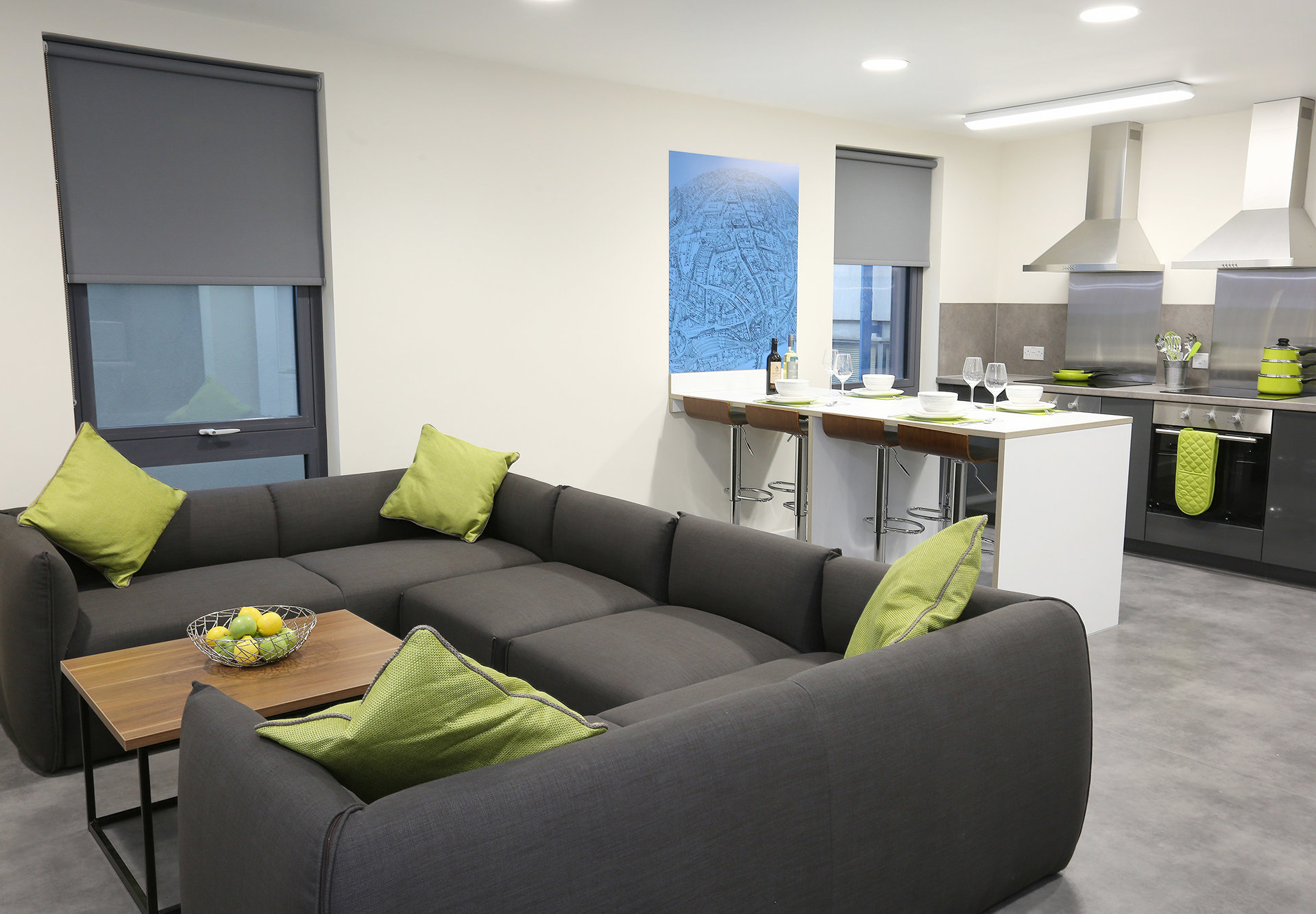 Premium En-Suite Cluster Lounge | Oxford House